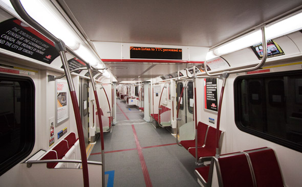 A Ride On The New Ttc Rocket Subway Train