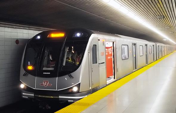 Toronto Rocket Subway Train TTC