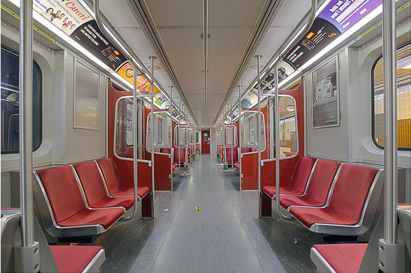 what ttc subway cars used to look like. Black Bedroom Furniture Sets. Home Design Ideas
