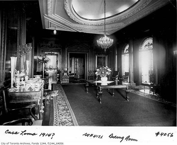 Toronto, history, Casa Loma, Sir Henry Pellatt, E.J. Lennox