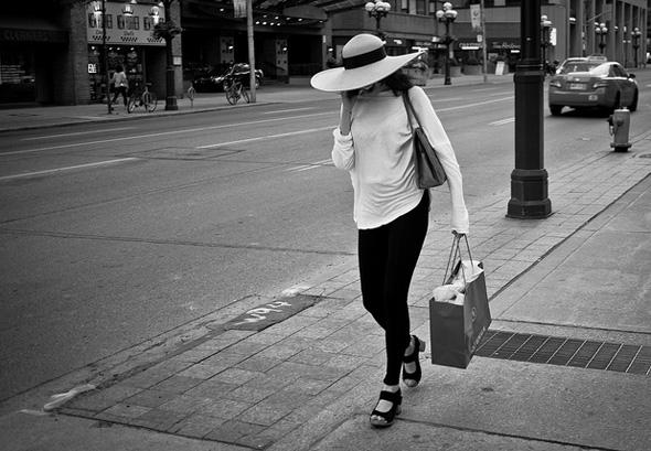 walk, talk, woman