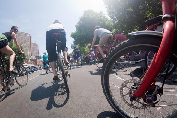 Bells on Bloor Bike Ride 2011