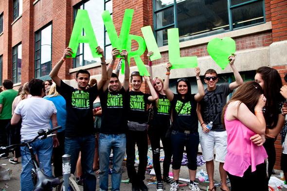 MMVA - Avril Fans