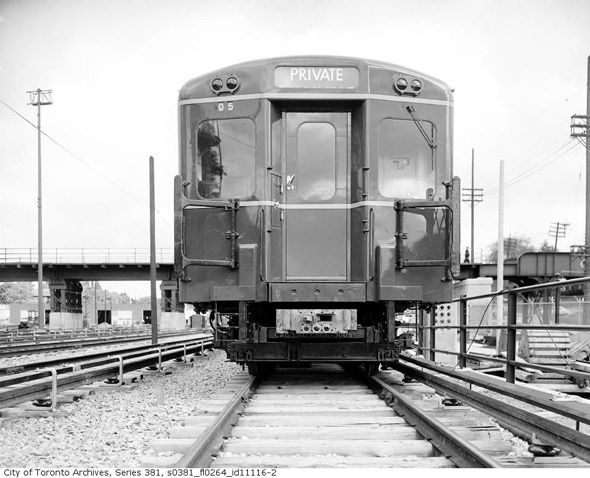 Gloucester Subway Car TTC