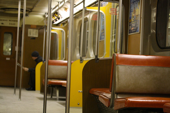 TTC subway cars