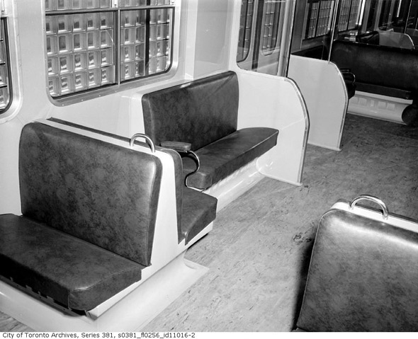 Interior Gloucester Subway Car