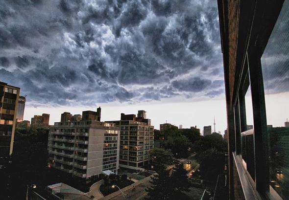 Storm Clouds Toronto