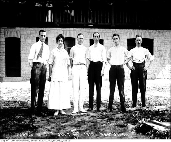 Kew Beach Toronto 1915