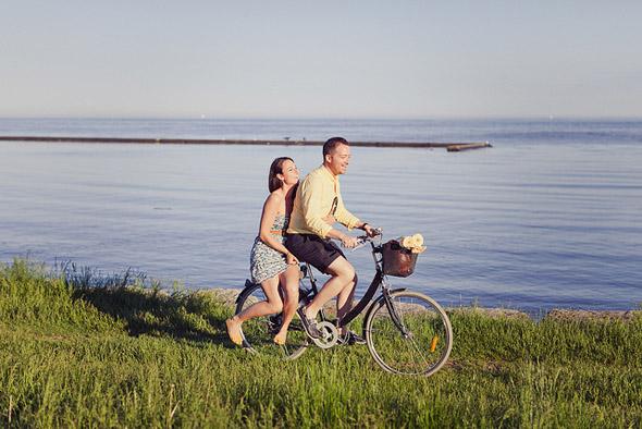 bike, ride couple