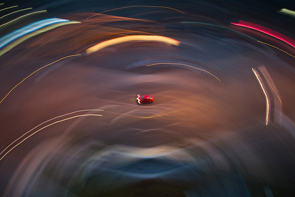 swirl, car, motion