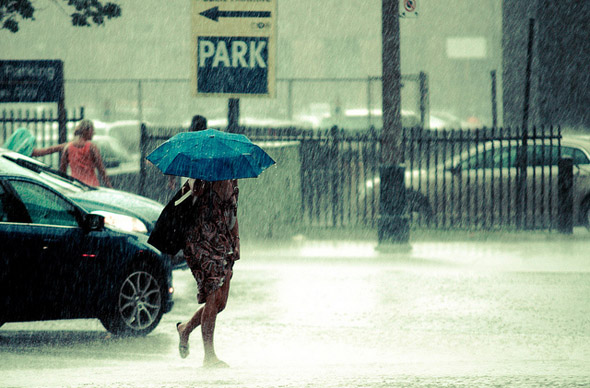 rain, storm, street