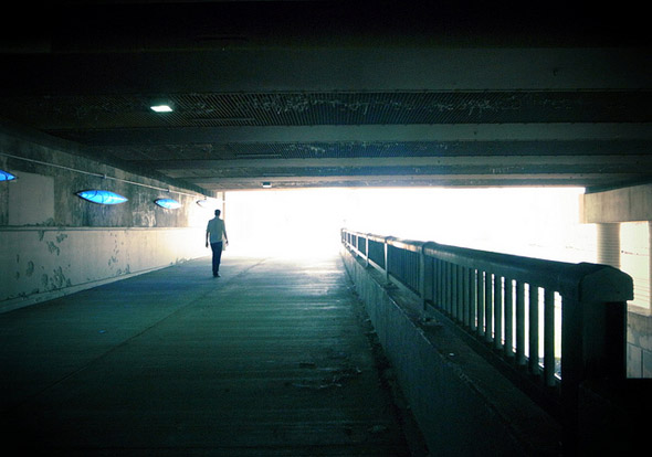 underpass, toronto, light