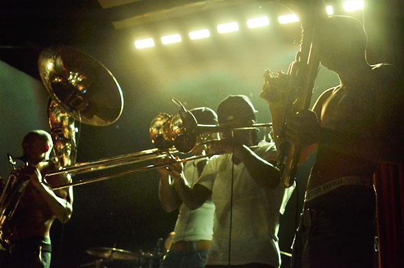 Hypnotic Brass Ensemble, Great Hall