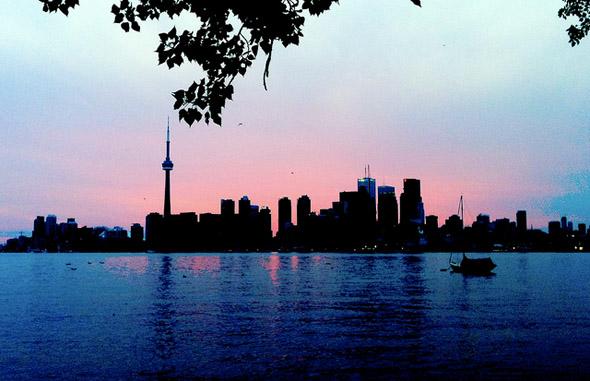 sunset, ward, island