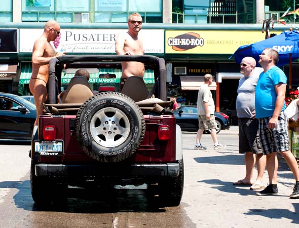 Toronto car wash