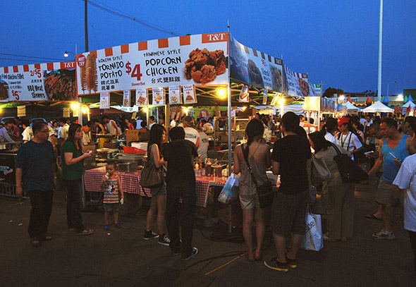 Toronto Downtown Night Market