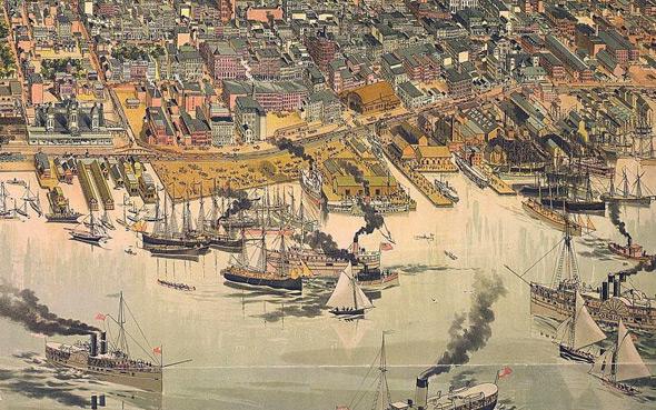 Toronto Harbour 1883