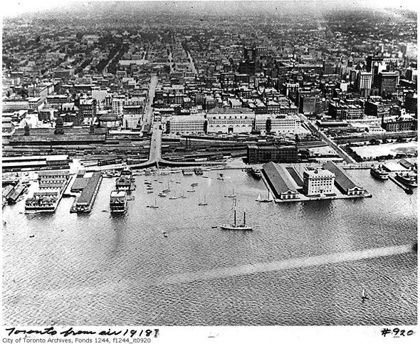 Toronto Aerial 1918