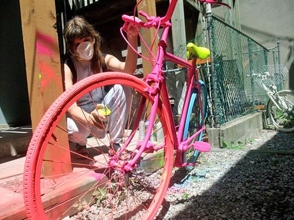 Art bike Toronto