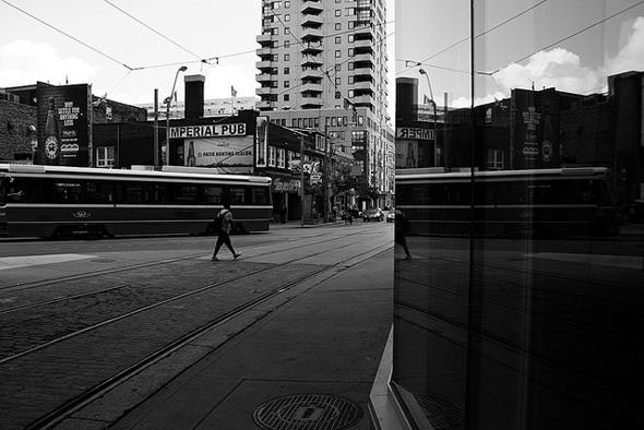 transit, toronto, walk