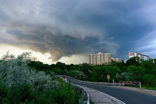 storm, clouds, tornado