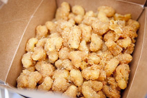 deep-fried cheese curds