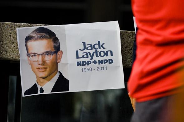 Jack, Layton, Memorial