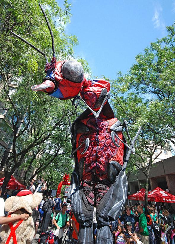 Buskerfest 2011 Toronto