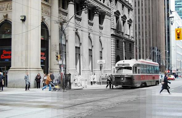 Yonge and King 1965 Toronto