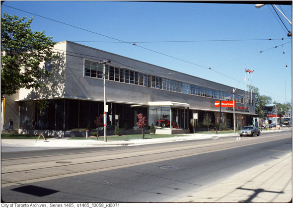 This is what king west looked like in the 1980s - Massey ferguson head office ...
