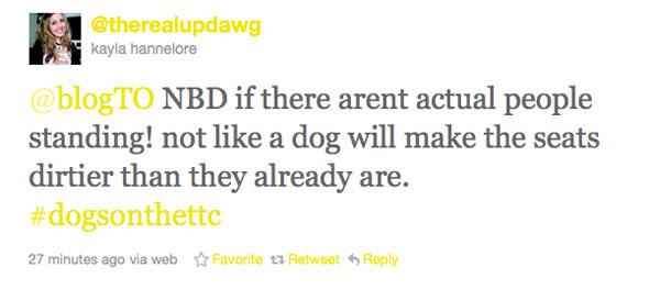 Dogs TTC