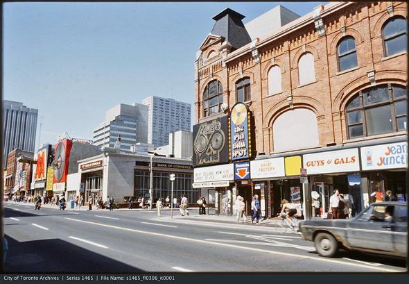 Yonge Street 1970s