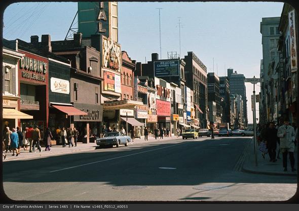 Yonge street strip
