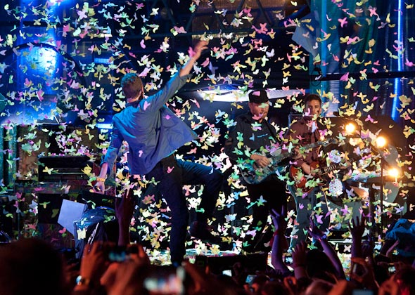 Coldplay Live Toronto MuchMusic