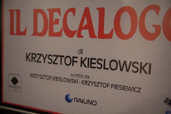 KieÅ›lowski in Posters