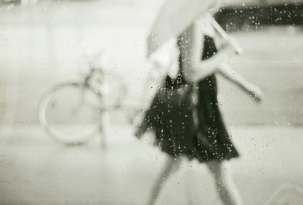 storm, rain, street
