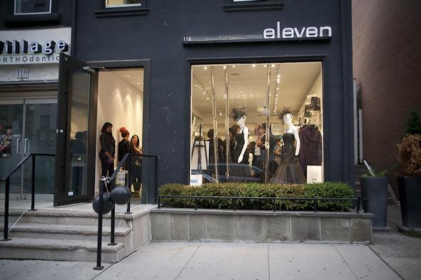 Eleven Boutique Toronto