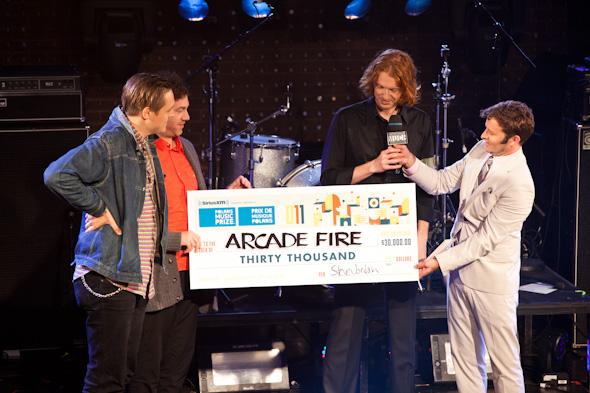 Arcade Fire Win Polaris