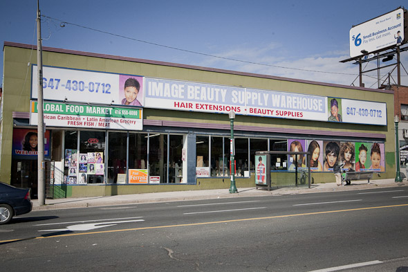Get to know a street west eglinton west for Beauty salon equipment warehouse