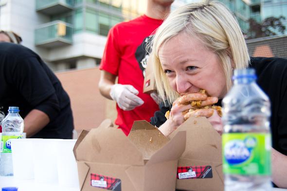 World Poutine Eating Championship Toronto