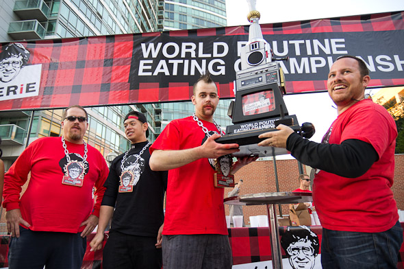 World Poutine Eating Championships Toronto
