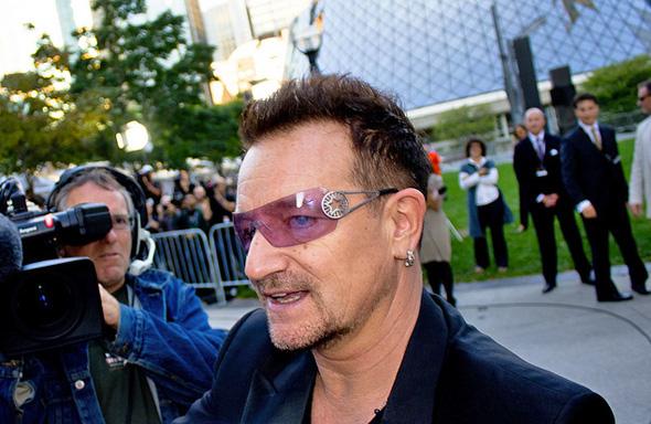 Bono TIFF Toronto