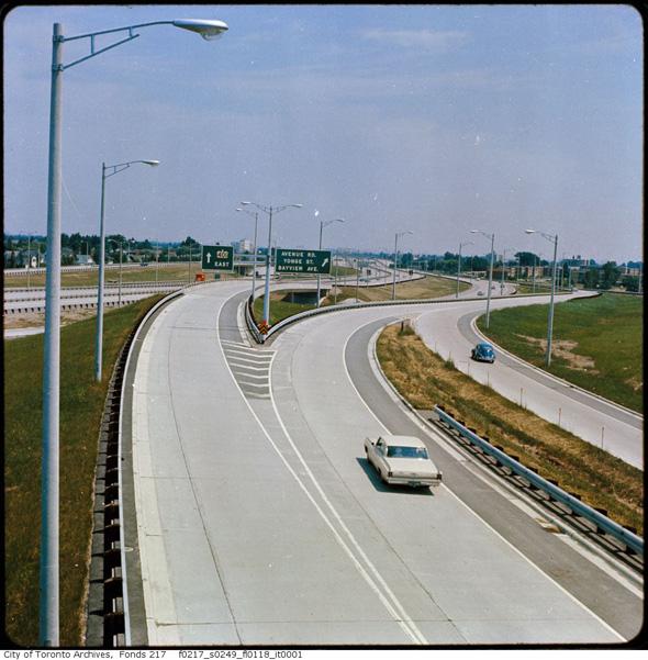 Toronto highways