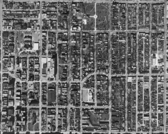 aerial photo toronto