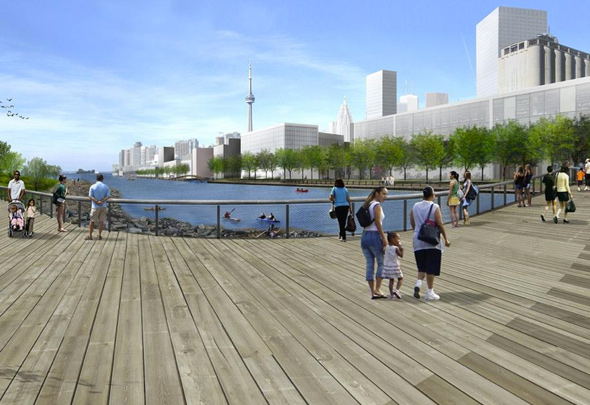 Port Lands Waterfront Toronto