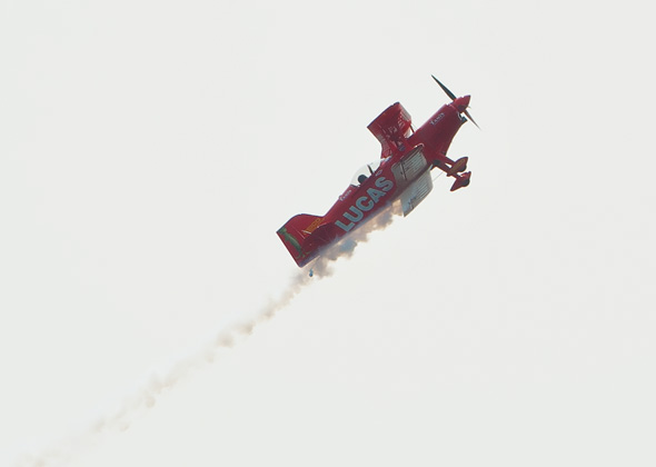 Stunt Plane Canadian Air Show