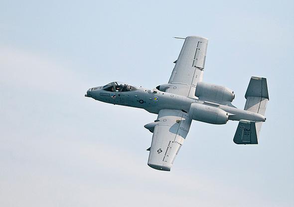 A-10 jet