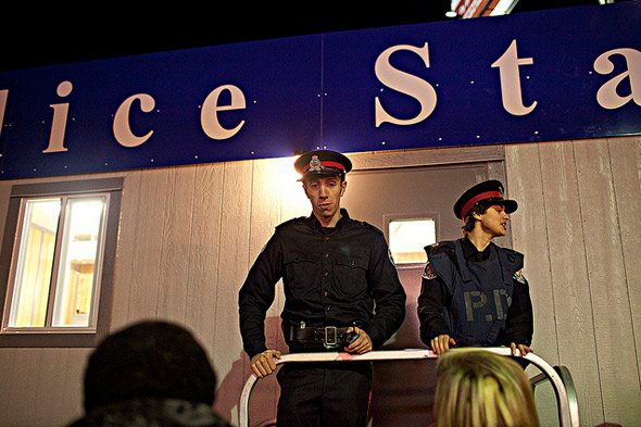 Police Station Nuit Blanche