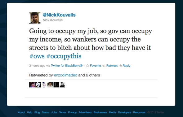 Nick Kouvalis Twitter