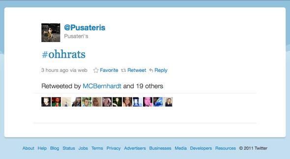 Pusateri's Tweet
